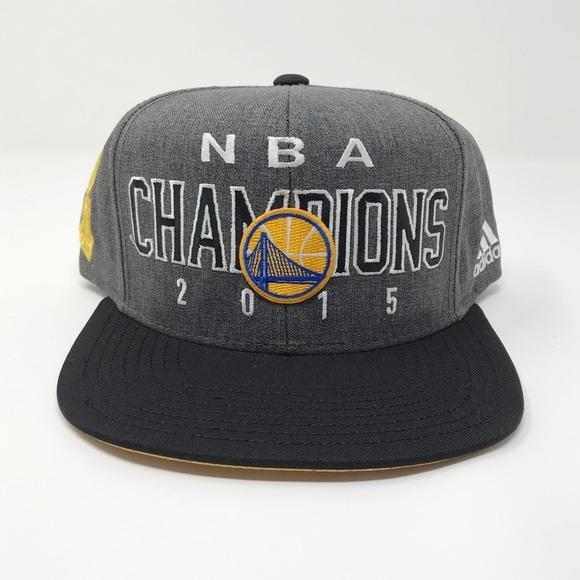 brand new 41743 3dfa1 BRAND NEW GSW 2015 Finals Champions Hat
